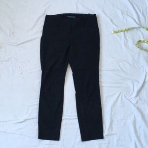 The Limited Exact Stretch black straight pants 0